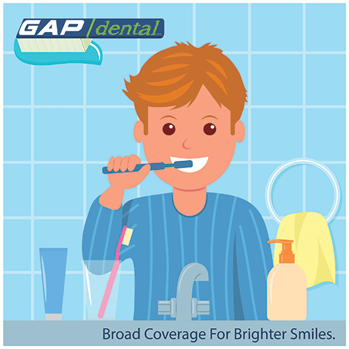 Gap Dental Plan - click here to view plan benefits